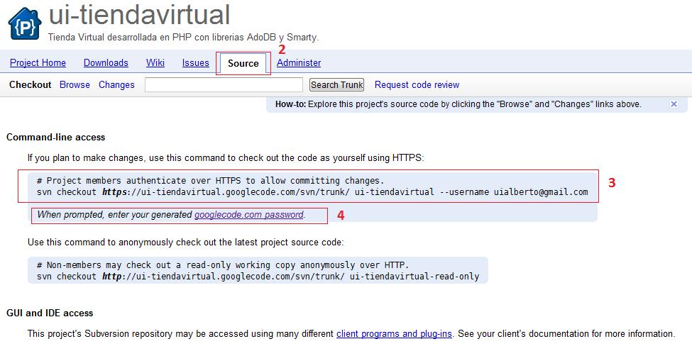 Proyecto Google Code Tienda Virtual