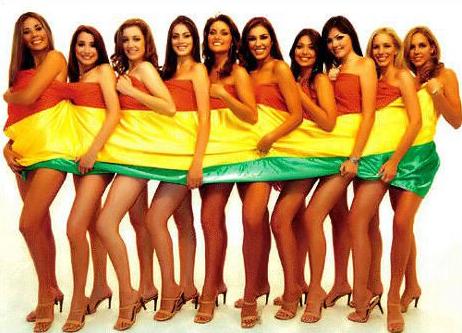 Bolivia y sus hermosas mujeres!